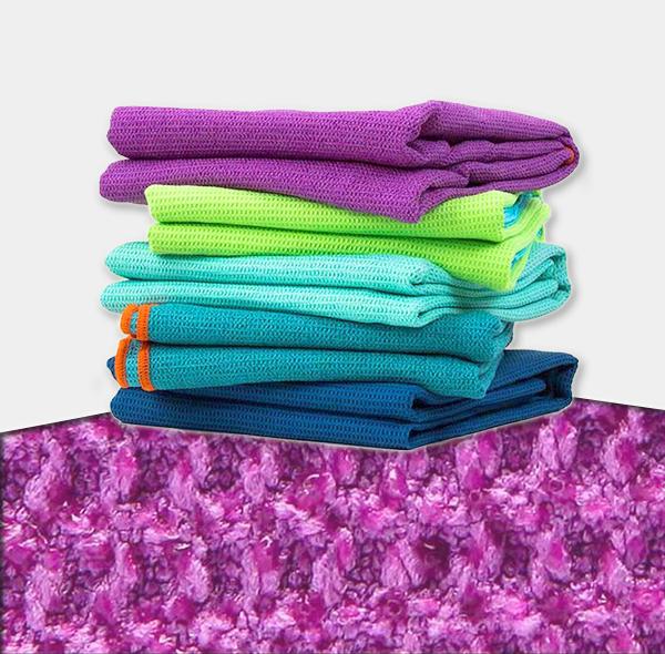 菠萝布硅胶防滑瑜伽铺巾