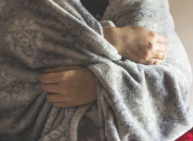办公室休息盖毯