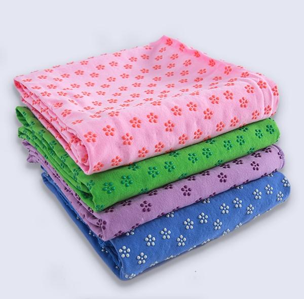 梅花点卫衣布防滑铺巾