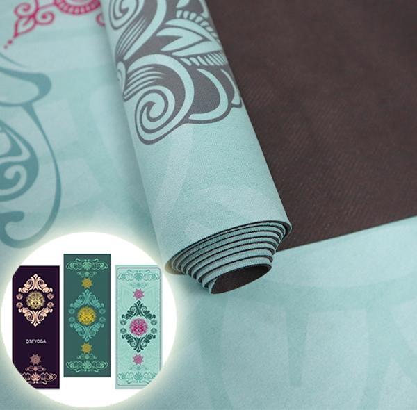 睡莲系列瑜伽铺巾防滑垫