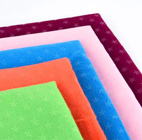 瑜伽五角星硅胶防滑垫