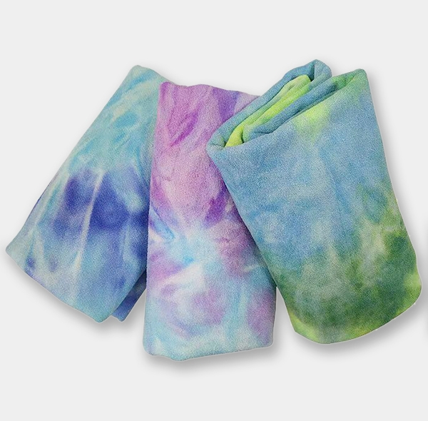 扎染瑜伽铺巾