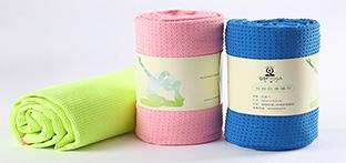 瑜伽铺巾什么材质的会比较好呢